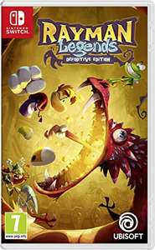 Amazon.co.uk Rayman Legends Definitive Edition (Nintendo Switch) oder Monopoly (Switch) evtl. in Kombination mit Gutschein beide für 38,12 Euro bzw. 34,29 Pfund