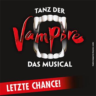 Köln Musical Tanz der Vampire ab 34,90 € (PK3) für Vorstellungen bis 28.9, höhere PK verfügbar