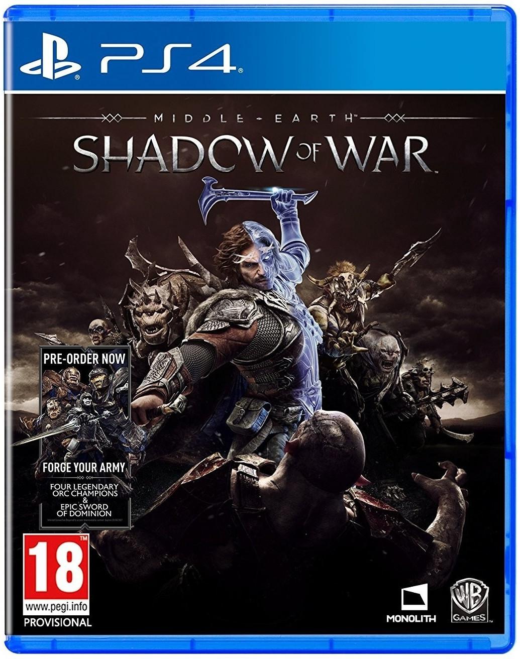 Mittelerde: Schatten des Krieges (PS4) für 16,66€ (Shop4World)