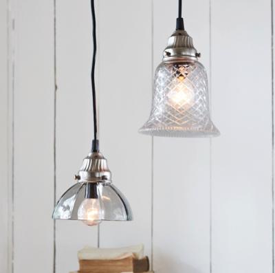 15% Rabatt auf alles (auch Sale) bei Loberon, z.B. Lampen aus Eisen & Glas im 2er-Set