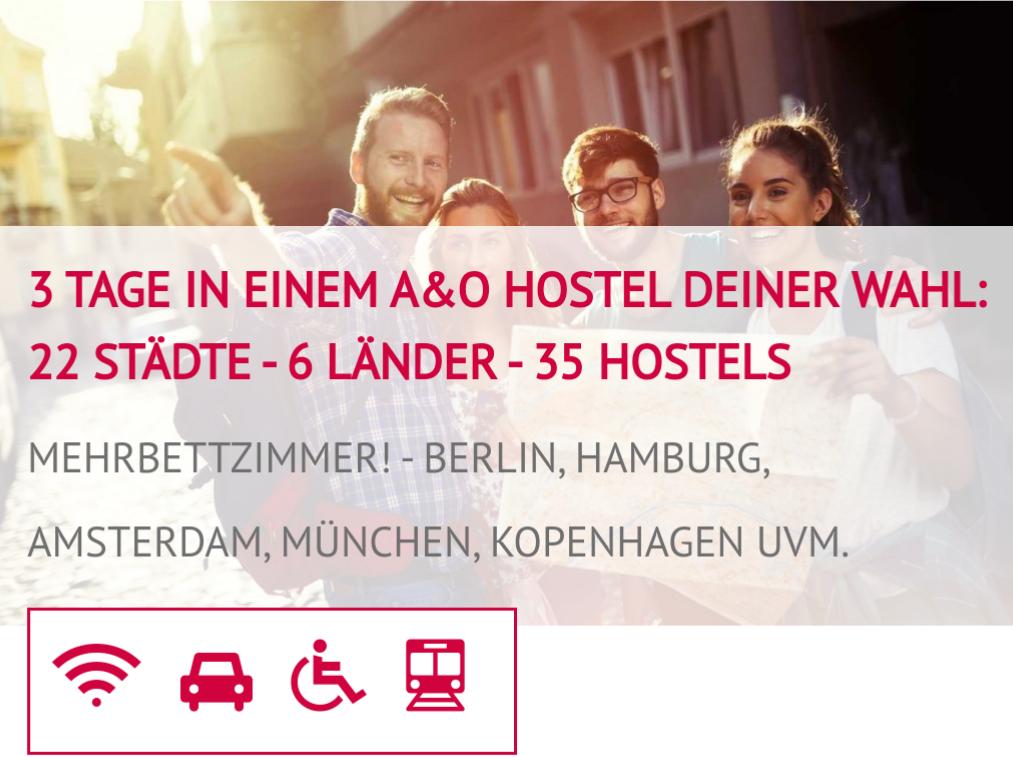Voucherwonderland A&o Hostel