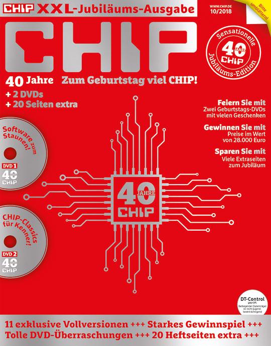 CHIP Zeitschriften Abo mit DVD für 69,60 und 60€ Verrechnungsscheck