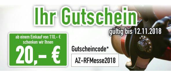 20€ Rabatt ab 110€ Einkaufswert Angelzentrale Herrieden [ Angeln ]