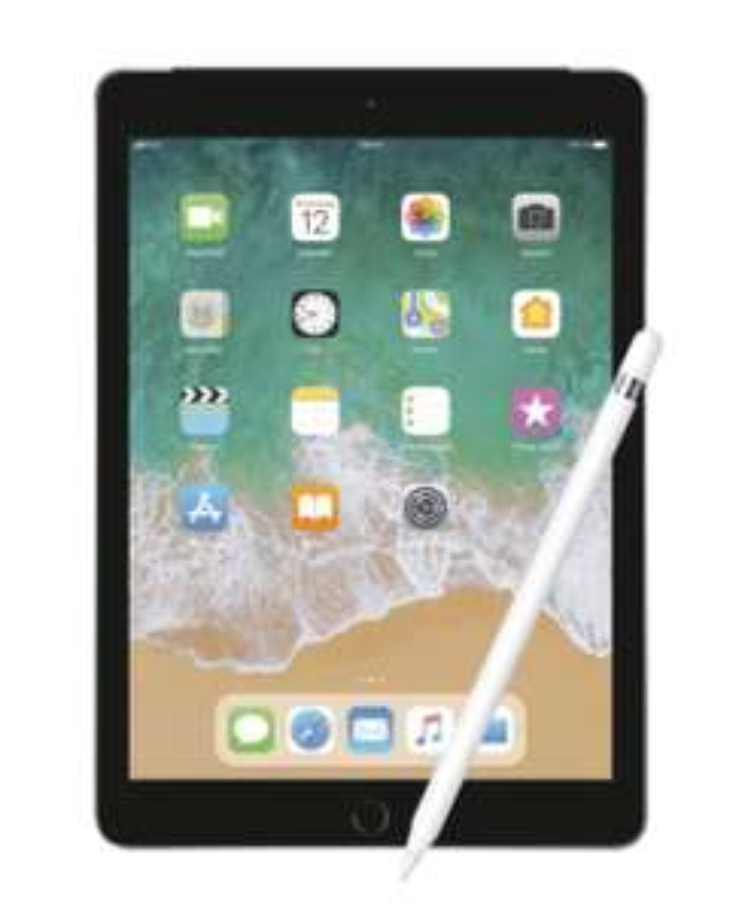Apple iPad 2018 32GB Wi-Fi + Cellular & Apple Pencil + 5 GB Vodafone LTE Datentarif mobilcom-debitel