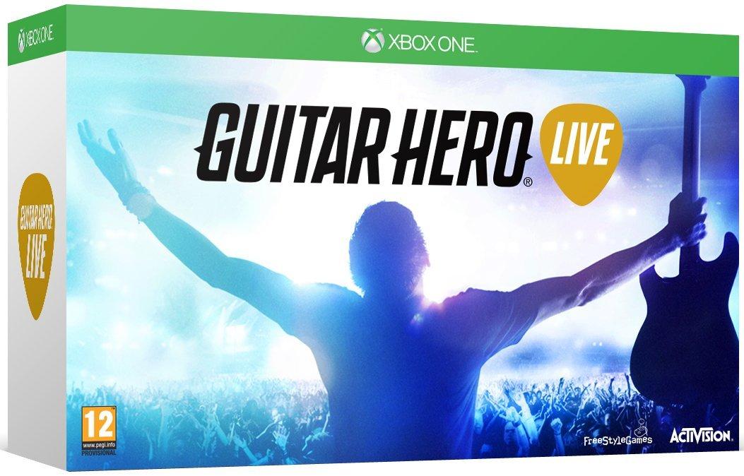 [AK Trade Online über ebay] Guitar Hero Live für Xbox One (X) - neu und inkl. Gitarrencontroller für 9,99 Euro inkl. Versand