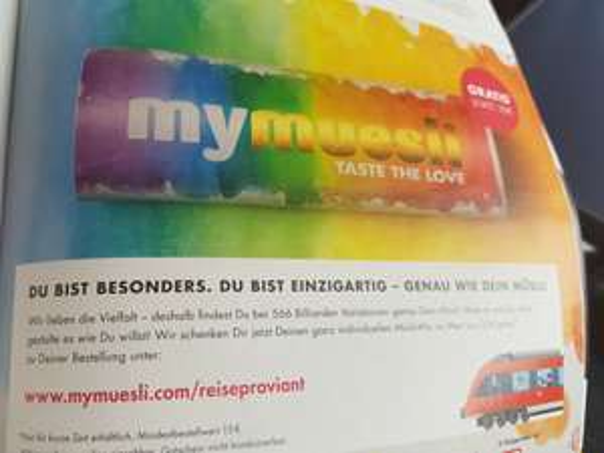 Mymuesli Gratis 10€ individuelles Müsli bei 15€ MBW