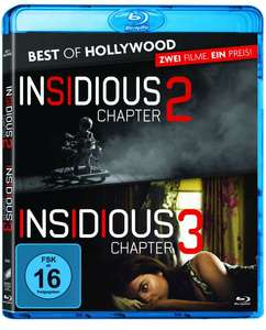 Insidious: Chapter 2 & Chapter 3 (2 Blu-rays) Best of Hollywood Collection für 7,99€ auf jpc.de