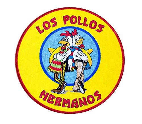 Los Pollos Hermanos Teppich 90x90