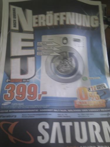 [Saturn Flensburg] Samsung WF 9784 Waschmaschine