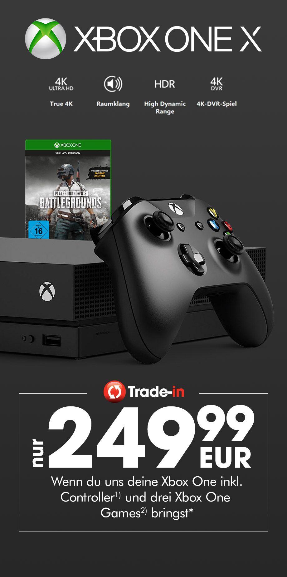 Gamestop Xbox One X Tauschaktion