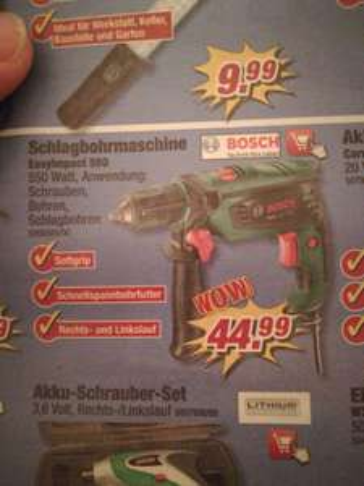 Bosch Easy Impact 550
