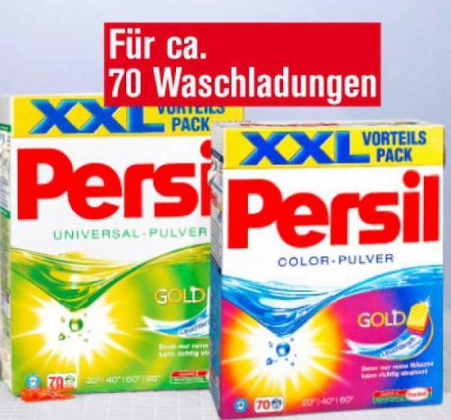 [offline] Kaufland: Persil XXL (70 Waschladungen) für €12,99