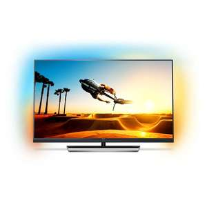Philips 49PUS7502 LED-Fernseher (49 Zoll, 4K, native 100Hz, Smart TV, Android, Ambilight)