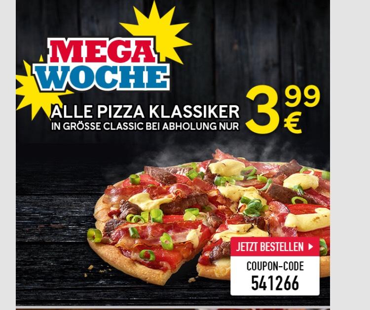 [Dominos, Abholung] Pizza Classics