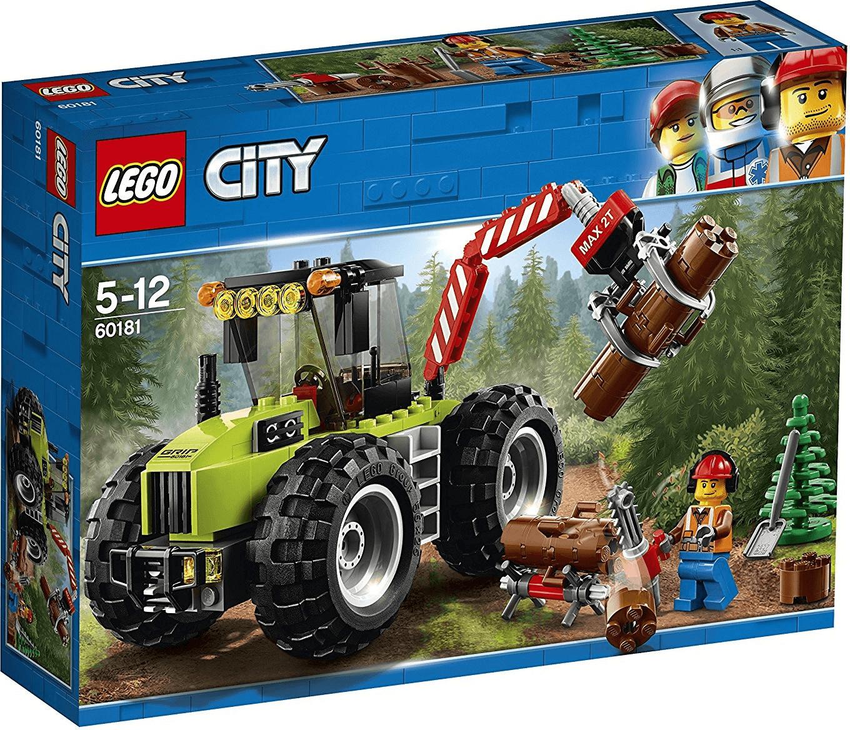 LEGO City - Forsttraktor (60181) bei Real Ratingen. Verpackung beschädigt.