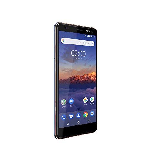[Amazon ES] Nokia 3.1 Version 2018 Smartphone (2GB, 16GB, 13MP Weitwinkel Kamera, LTE, Android One, Dual Sim) blau-kupfer