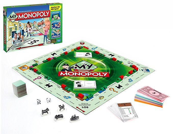 Monopoly selbst gestalten - My Monopoly, Familien-Brettspiel