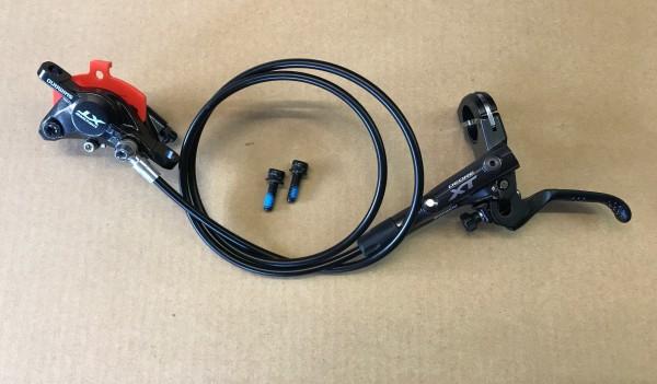 Shimano XT M8000 Scheibenbremse - Griff links - vorne 900mm