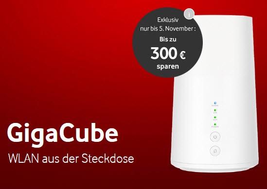 [Junge Leute alle unter 28] Vodafone GigaCube (50GB) oder GigaCube Max (200GB)