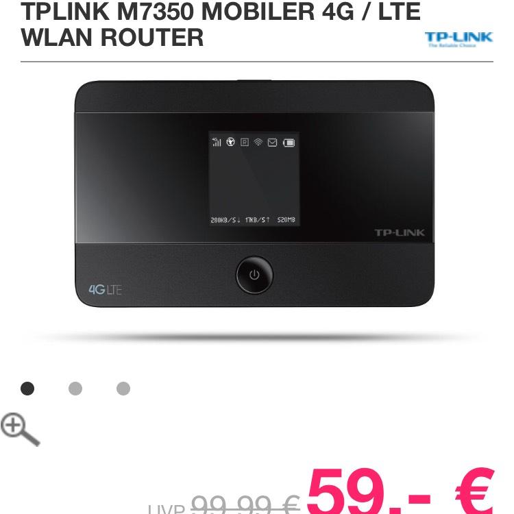 TP-Link M7350 mobiler WLAN-Router