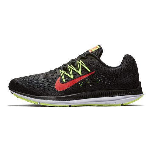 Nike Zoom Winflo 5 Laufschuh für Herren in schwarz / neongrün (Gr. 40 - 47,5)