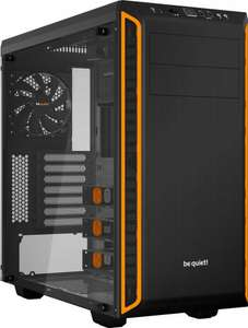 [Rakuten & MasterPass] be quiet! Silent Base 600 Orange mit Fenster, ATX-Tower für 72,31€