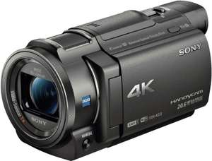 SONY FDR-AX33 Zeiss Camcorder 4K, Exmor R CMOS, 10x opt. Zoom, Balanced Optical SteadyShot (Amazon.es)