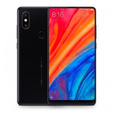 Xiaomi Mi MIX 2S Global Version 5.99 inch 6GB RAM 128GB ROM Snapdragon 845 Octa core 4G Smartphone - Black