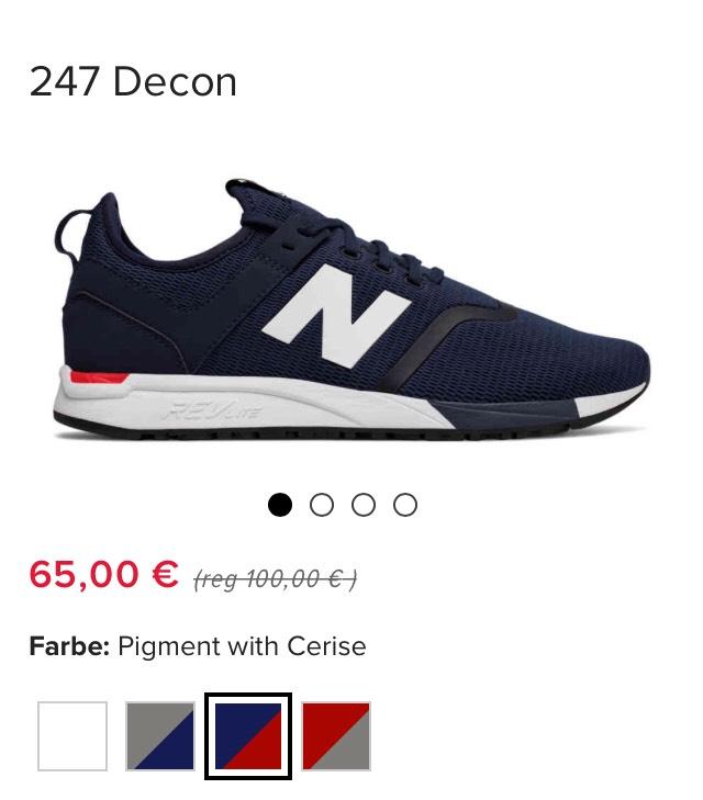 Best Preis: Sale New Balance - 247 Decon / viele Farben & Größen verfügbar + 15% Gutschein