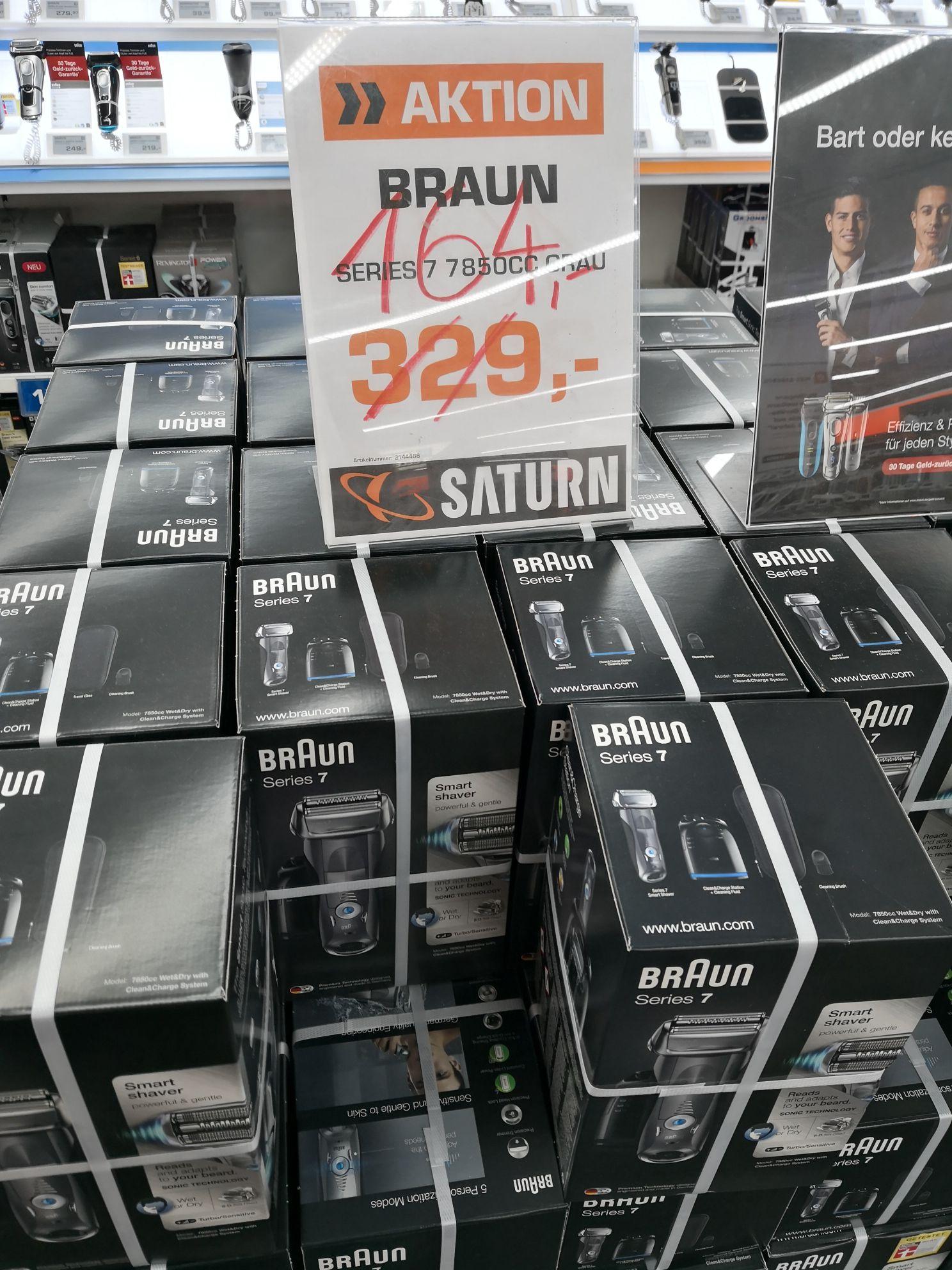 (LOKAL) Braun Series 7 7850 CC Rasierer (Saturn Hannover)