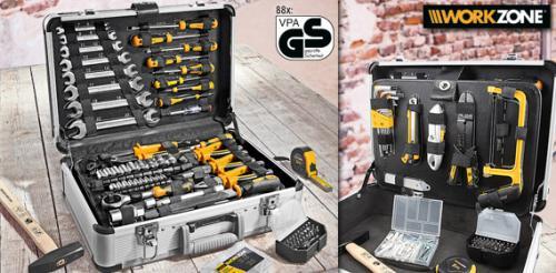 Aldi-Süd WORKZONE® Werkzeugkoffer, 101-teilig