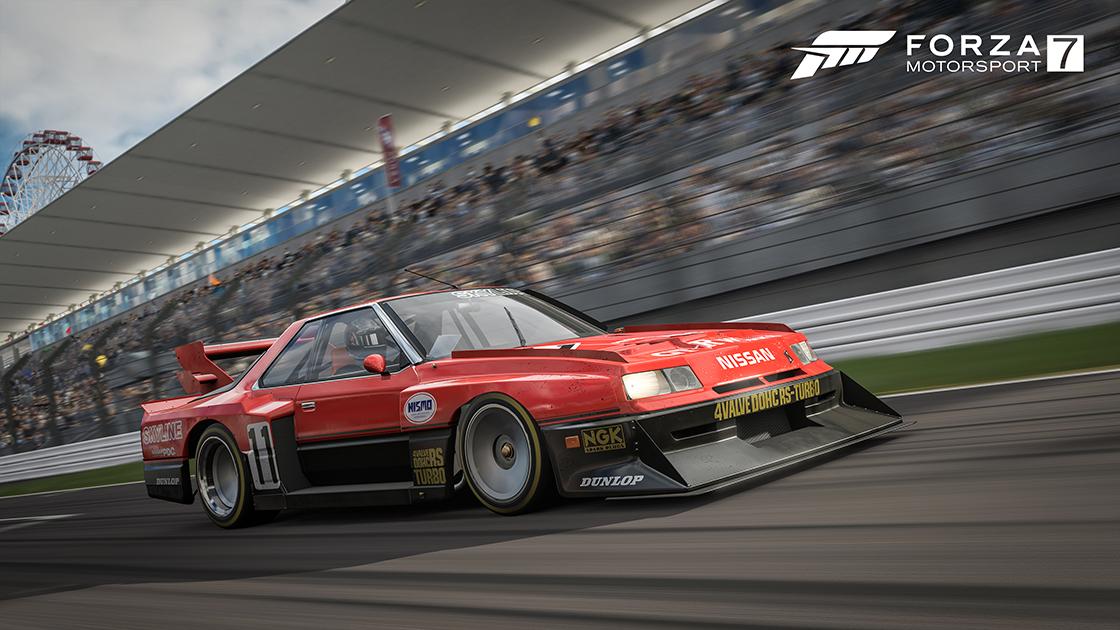 Forza Motorsport 7 kostenloser DLC - 1984 Nissan #11 Skyline Turbo Super Silhouette [PC & Xbox One]