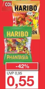 Haribo (200 g) verschiedene Sorten für 55 Cent [Jawoll]
