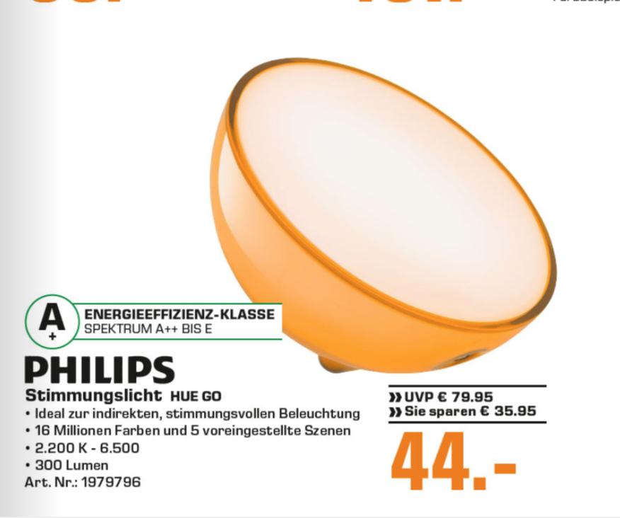 Hue Go (lokal Saturn Hamburg & Norderstedt) - 44 Euro