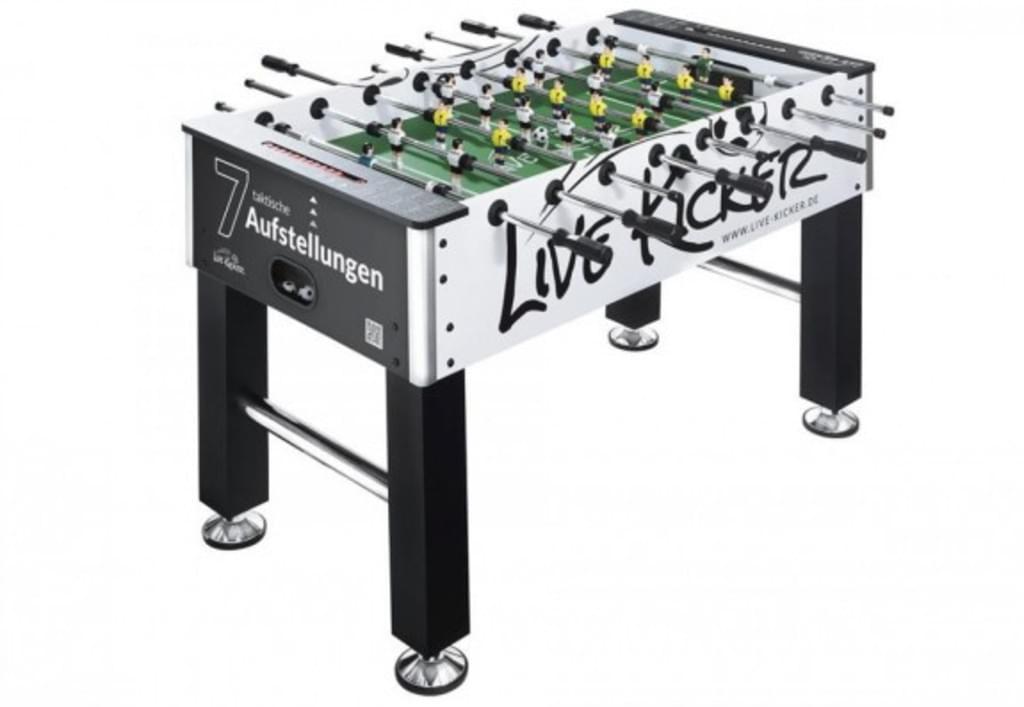 Live kicker kicker Tisch