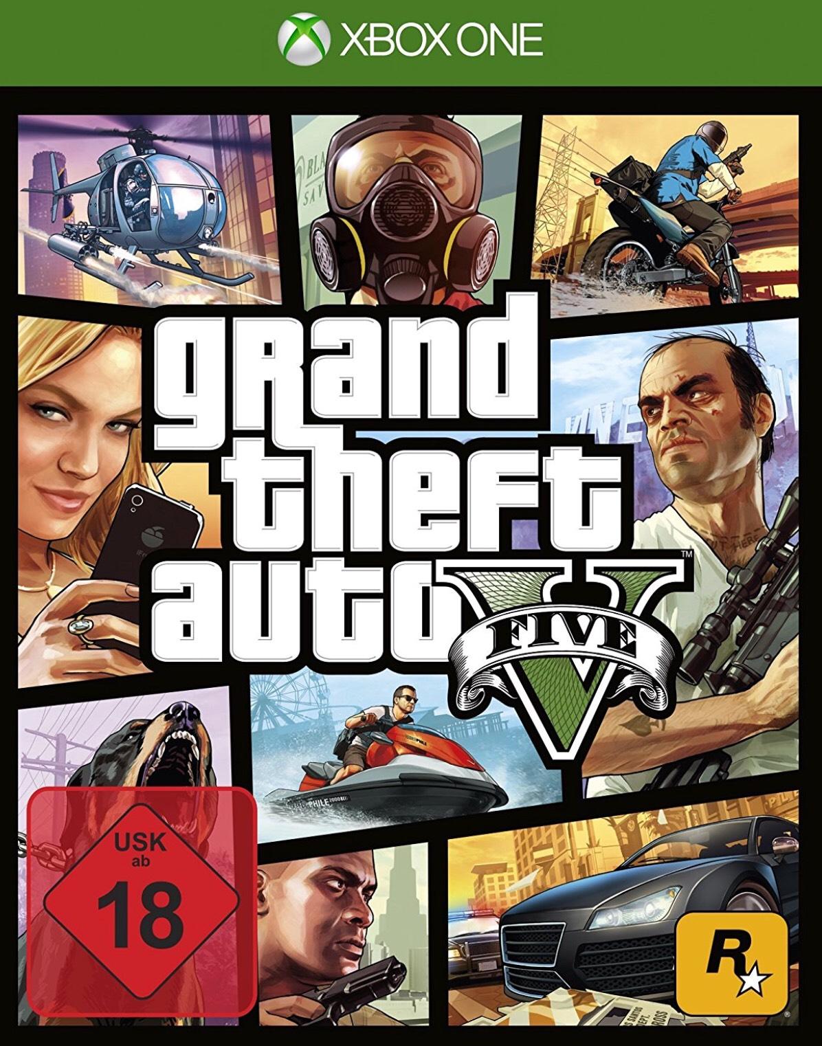 [Amazon] GTA V - Xbox One 18€