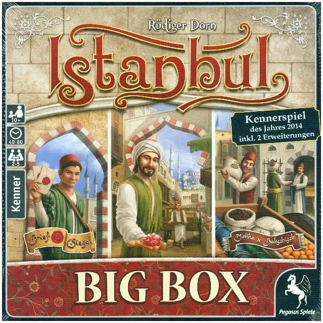 Istanbul Big Box [Hugendubel mit 13%GS] KENNERSPIEL 2014