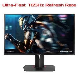[Amazon] Asus ROG Swift PG278QR 68,68 cm (27 Zoll) Monitor (WQHD, HDMI, DisplayPort, 1ms Reaktionszeit, Nvidia G-Sync) schwarz