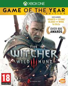 The Witcher 3 - Wild Hunt Game of the Year Edition (Xbox One) für 20,37€ (Base.com)
