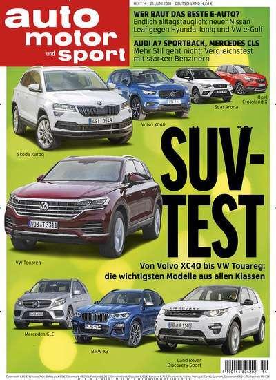 [Leserservice] Auto Motor Sport Abo (13 Monate) für 115,20 € (durch 8€ Gutscheinrabatt) € mit 110€ Amazon-/BestChoice-Gutschein