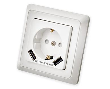 Aldi Süd: Dimmer und USB-Steckdosen für 9,99€