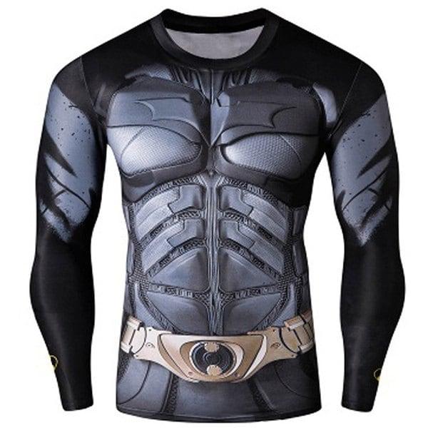 Trainings-Shirts im Superhelden-Design: Batman, Superman, Spiderman & Weihnachtsman(n)