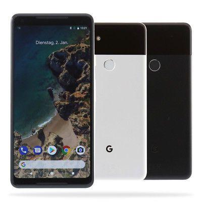 Google Pixel 2 XL schwarz oder schwarz-weiß (64GB 450€/ 128GB 520€) [B-Ware]