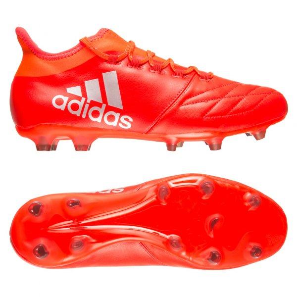 adidas X 16.2 FG Leather Fußballschuh für Herren Gr. 39 1/3 - 48 2/3