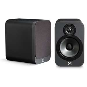Q Acoustics 3020 Regal-/Kompaktlautsprecher in graphit (Paar 198€)
