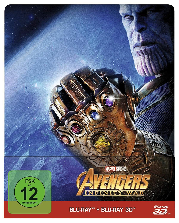 [Blu-ray]  Avengers: Infinity War - Steelbook / Limited Edition (3D/2D) @ bol.de