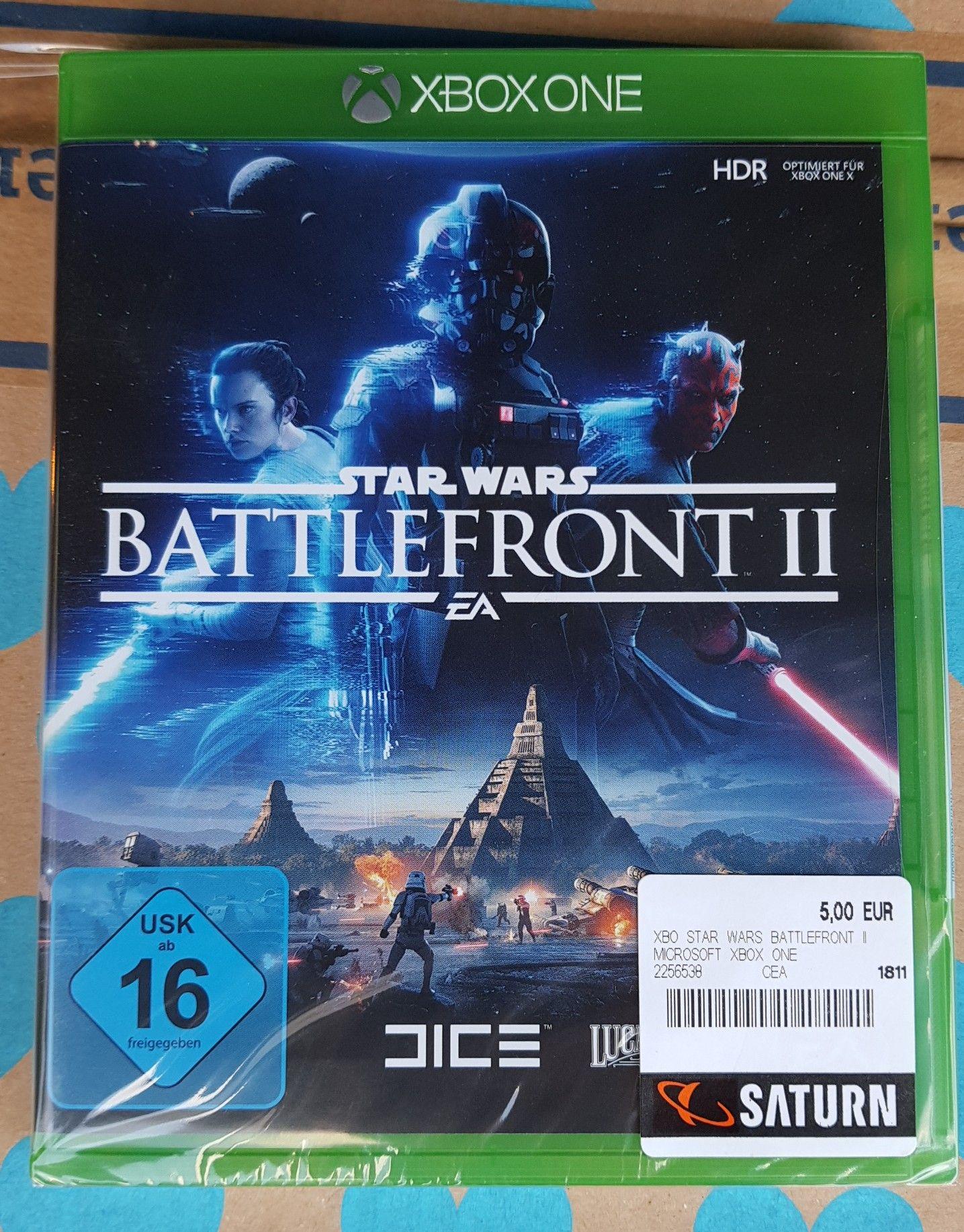 [Lokal] Star Wars Battlefront 2 XBox One @ Saturn Stuttgart