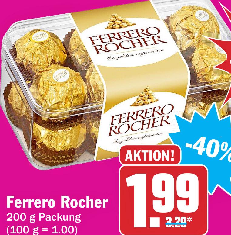 Ferrero Rocher für nur 1,99€ [HIT ab 21.09.]