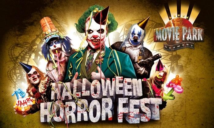 Tickets für das Halloween-Horrorfest im Movie Park Germany (Bottrop) für 22,50€ am 13.10.2018