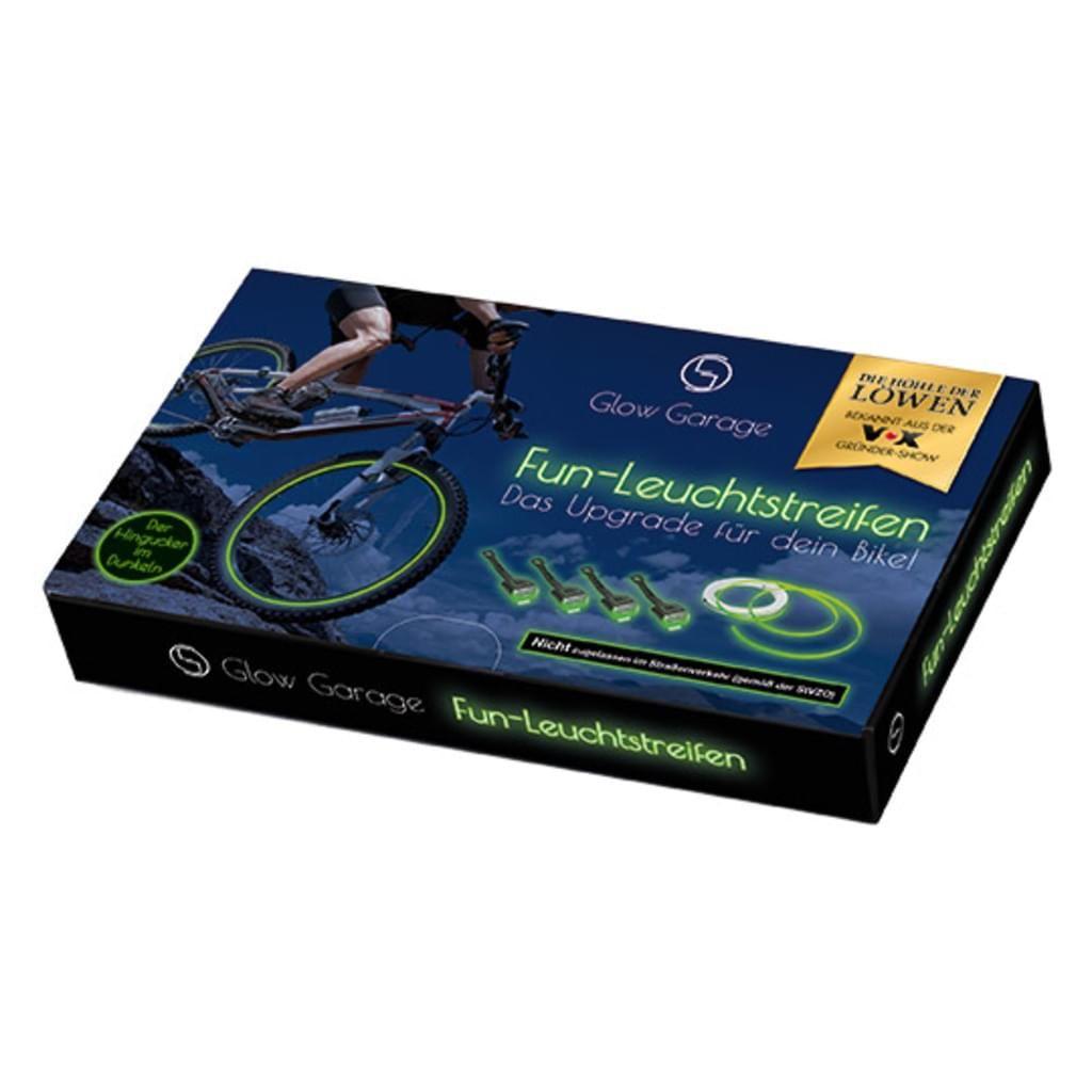 GlowGarage Fun-Leuchtstreifen Set 5-tlg. - Das Upgrade für dein Bike